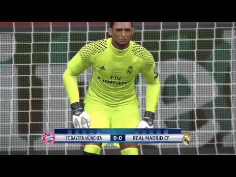 Bayern Munchen – Real Madrid | UEFA Champions League 2017 | PES 2017 HD Penalty Shootout