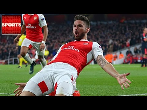 ARSENAL 2-0 FC BAYERN | Giroud And Ozil LATE GOALS Stun Bayern