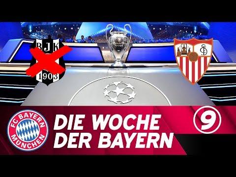 Die Woche der Bayern: Blickpunkt CL – Nach Besiktas ist vor Sevilla | Ausgabe 9