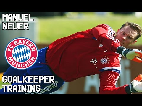 Manuel Neuer / Goalkeeper Training / Bayern Munich !
