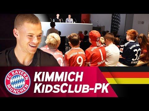 Joshua Kimmich beantwortet Kinderfragen 🗣👦👧 | FC Bayern KidsClub