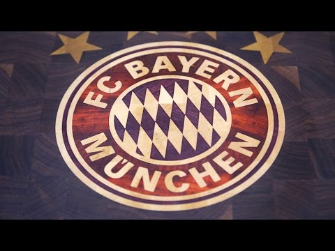 FC Bayern logo board