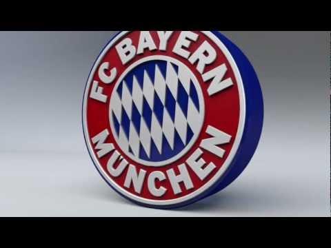 FC Bayern München 3D Logo Animation HD