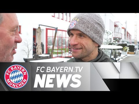 Bayern primed for Besiktas – Thomas Müller: We can't wait