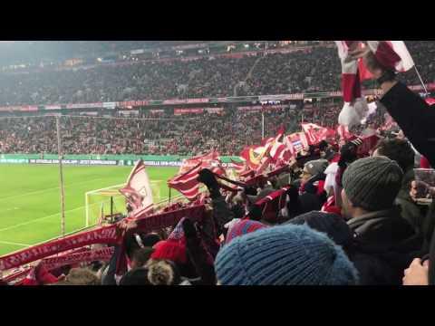 FC Bayern Forever Number One – DFB Achtelfinale 16/17 – FC Bayern München vs. VfL Wolfsburg 08.02.17