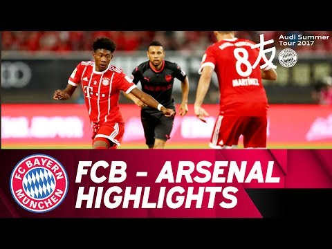 FC Bayern – Arsenal FC 3:4 on pens | Highlights | Audi Football Summit