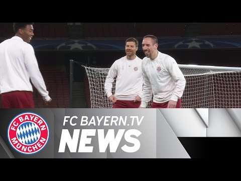 Bayern self-confident in London