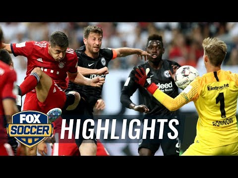 Robert Lewandowski heads back-to-back goals for Bayern Munich | 2018 DFL-Supercup Highlights