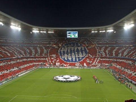Fc Bayern München fans chant!