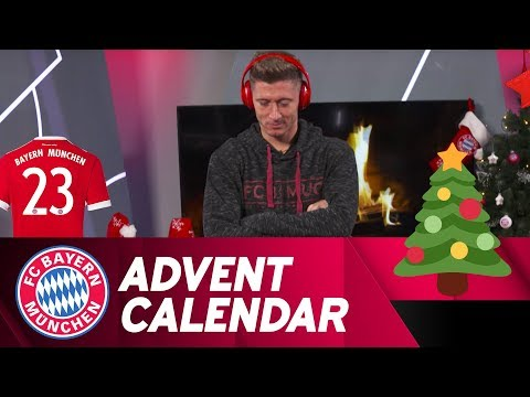 Which song is it? w/ Robert Lewandowski | FC Bayern Xmas Advent Calendar #23