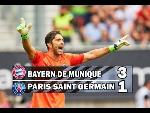 Bayern de Munique 3 x 1 PSG (HD) Melhores momentos e Gols – Champions Cup 21/07/2018