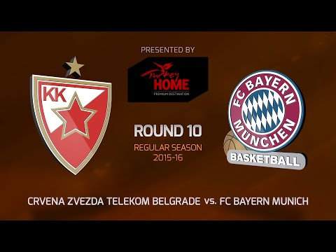 Highlights: Crvena Zvezda Telekom Belgrade-FC Bayern Munich
