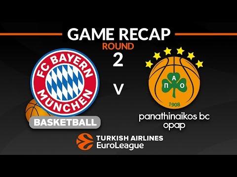 Highlights: FC Bayern Munich – Panathinaikos OPAP Athens