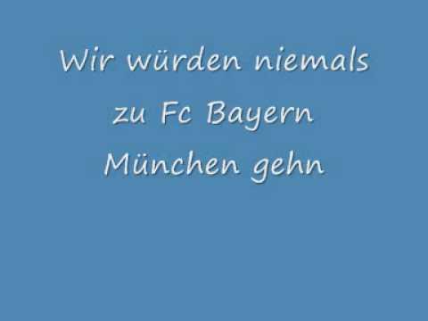 Toten Hosen Nie zum Fc Bayern München gehn (Mit Text)