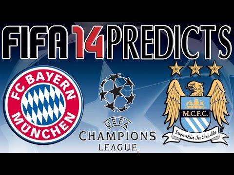 Bayern Munich vs Manchester City | FIFA 14 Prediction (17/09/2014)