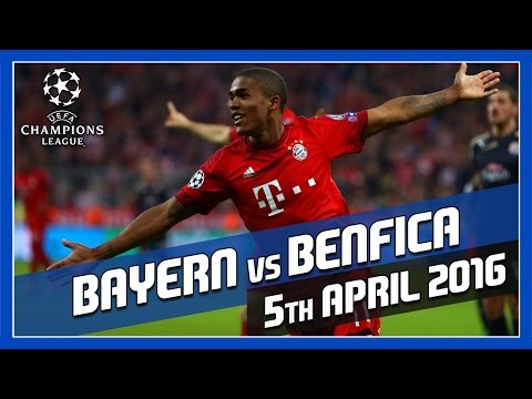 Bayern Munich vs Benfica – 5th April 2016 – Match Prediction