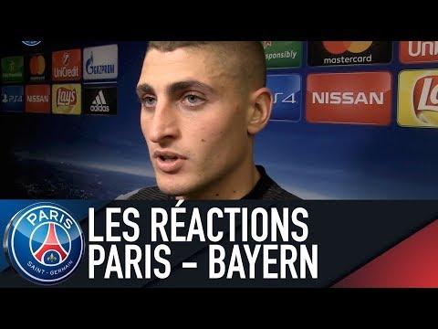 REACTIONS : PARIS SAINT-GERMAIN 3 – 0 FC BAYERN MUNICH