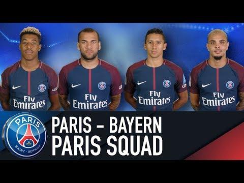 GROUPE PARISIEN / PARIS SQUAD : PARIS SAINT-GERMAIN vs FC BAYERN MUNICH