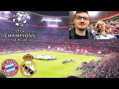 FC BAYERN – REAL MADRID | Champions League – Stadionvlog mit Madrid Fan