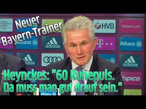 FC Bayern München: Jupp Heynckes als neuer Trainer vorgestellt