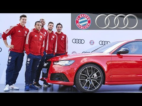 FC Bayern Munich Receives  New Audi Cars