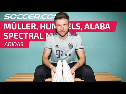FC Bayern Munich Stars Talk Spectral Mode and Style