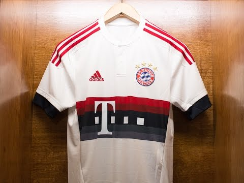 Bayern Munich 2015/16 Away Jersey Review