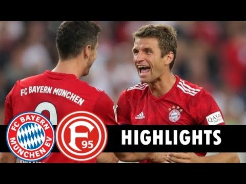 FC Bayern München 3-3 Fortuna Düsseldorf (24/11/2018) All Goals & Extended Highlight HD HD