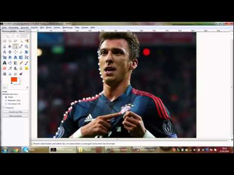 Sauber freistellen/rendern Gimp-Tutorial-FC Bayern München • Wallpaper & Graphics •