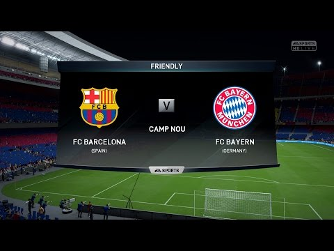 FIFA 16 | FC Barcelona vs FC Bayern Munich – Full Gameplay (PS4/Xbox One)