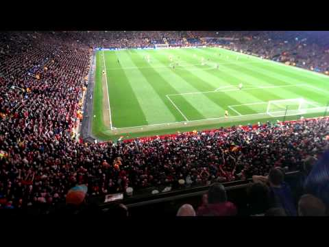 Man utd vs Bayern atmosphere!  VIDIC song his goal