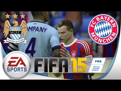 FIFA 15 | Manchester City Vs. FC Bayern ~ Spannung PUR