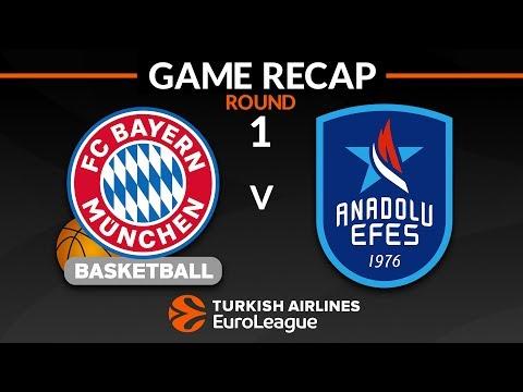 Highlights: FC Bayern Munich – Anadolu Efes Istanbul