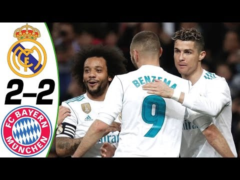Real Madrid vs Bayern Munich 2-2 2018 – Match Preview UCL with English Commentary 01/05/2018 HD 720p