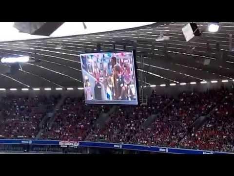 FC Bayern Munich team presentation 2014/2015