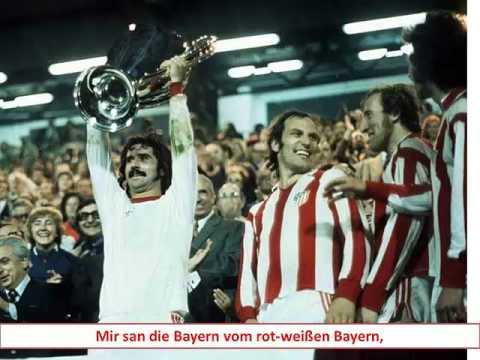 FC Bayern Mir san die Bayern (with lyrics)