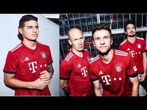Wow ! Amazing Bayern Munich  18-19 New kit