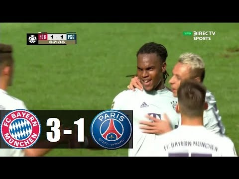 BAYERN MUNICH VS PSG 3-1 │21-07-2018│Pretemporada│ RESUMEN COMPLETO HD ⚽
