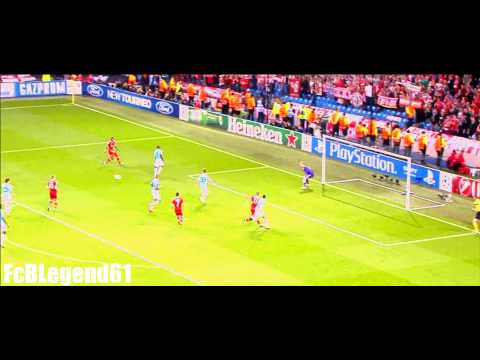 Amazing Passing Game Fc Bayern vs. Manchester City / Benny Hill