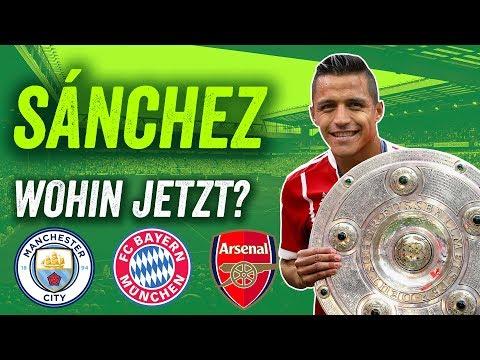 Sanchez hat sich entschieden! Bayern München, Manchester City oder bleibt er bei Arsenal?