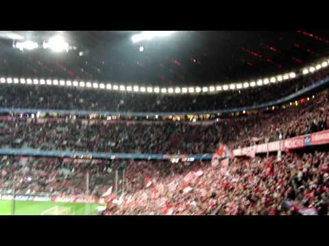 [HD] FC Bayern – Manchester United – Torjubel beim 2:1 und Siegesfeier