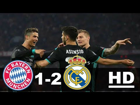 Bayern Munchen vs Real Madrid 1-2 All Goals & Highlights 26 April 2018