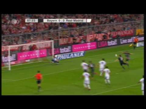 Bayern Munich vs. Real Madrid 13.8.2010 Highlights All goals