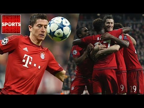FC BAYERN 5-1 ARSENAL | AMAZING GOALS LEWANDOWSKI, MULLER, ALABA AND ROBBEN