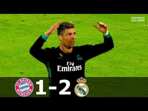 Bayern Munich vs Real Madrid 1-2 – UCL 2017/2018 – Highlights (English Commentary) HD