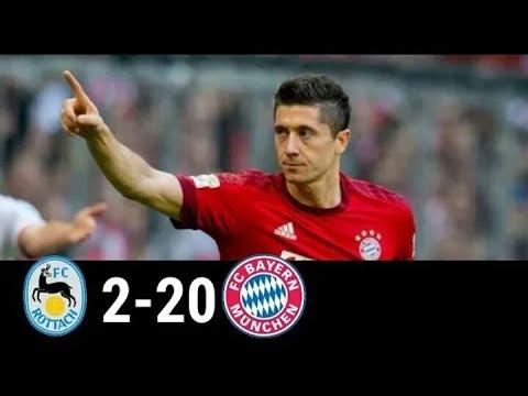 FC Rottach Egern vs Bayern Münich 2 20 All Goals #Bayernmunich #Rottachegern