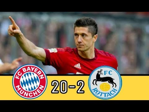 Bayern Munich vs Rottach-Egern 20-2 Highlights 09/08/2018