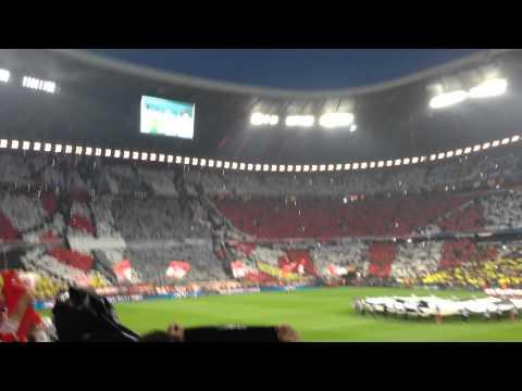 29. April 2014 FC Bayern – Real Madrid 0:4 CHAMPIONS LEAGUE HYMNE