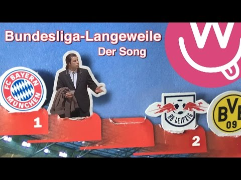 Bayern wieder Meister: Der Bundesliga-Langeweile-Song!