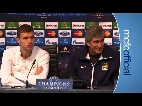 PREVIEW: Pellegrini & Dzeko Preview City v Bayern